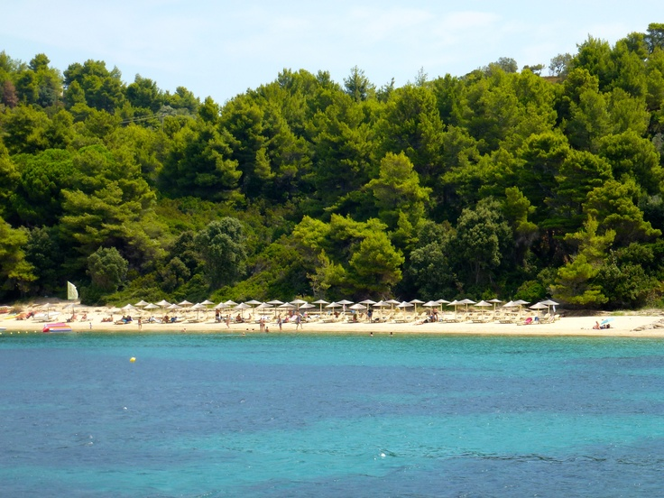 Skiathos island, Koukounaries Beach