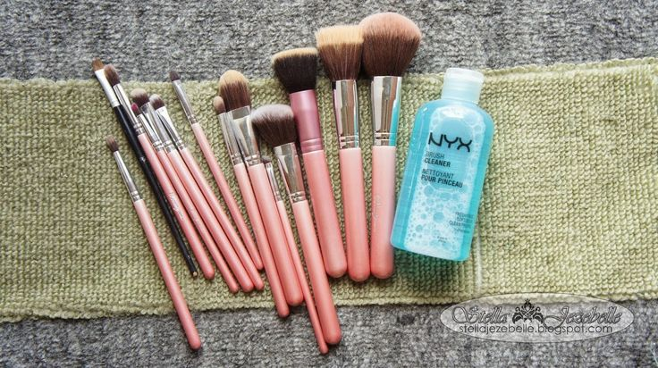 Beauty, Fashion and Lifestyle Blog by StellaJezebelle: How to Deep Clean Makeup Brushes with NYX Brush Cleaner