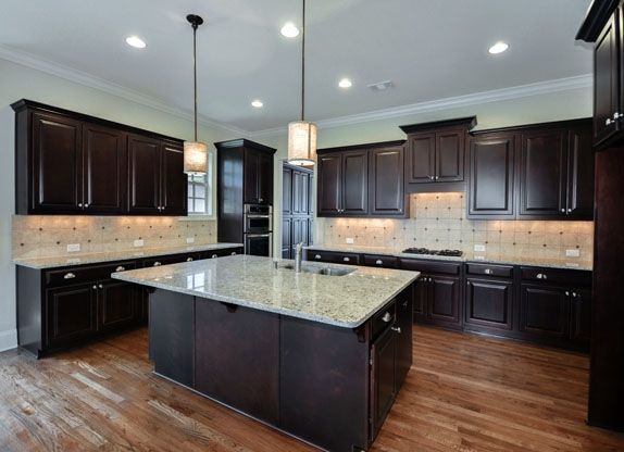 Cook 39 s kitchen with designer finishes throughout atlanta for Atlanta ga kitchen cabinets