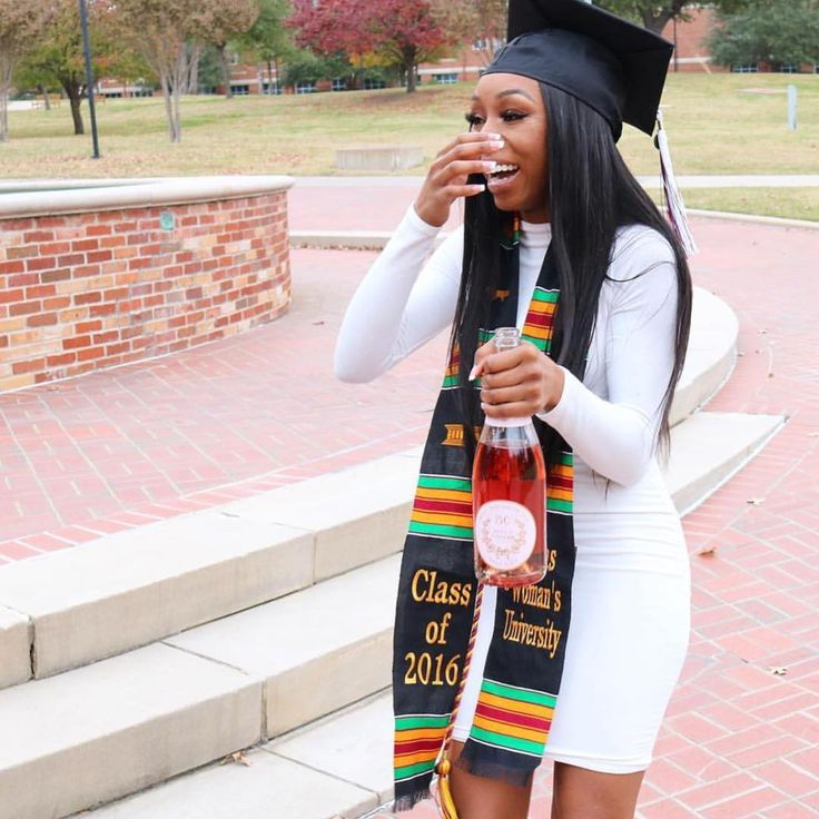 "479 Likes, 7 Comments - Black Girls Graduate (@blackgirlsgraduate) on Instagram: ""The  is to never give up, and look fly while securing the bag  Congrats @ashleydbeauty! …"""