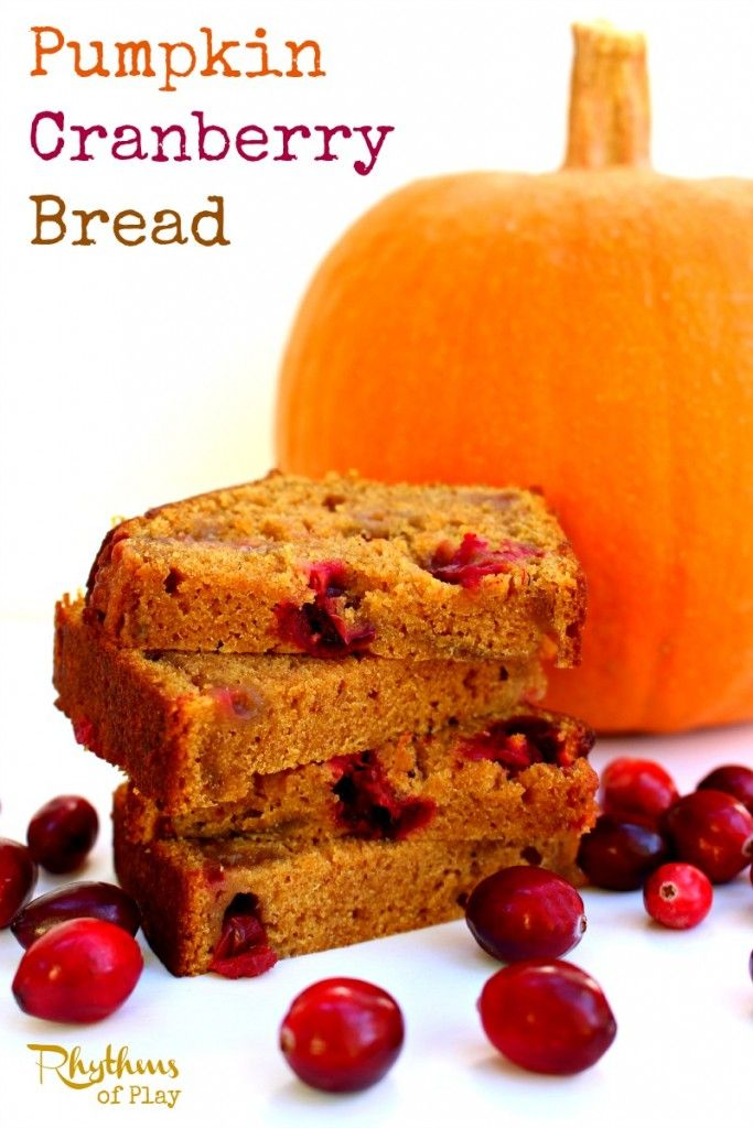 If you're looking for an awesome addition to your holiday baking you've found it. There is nothing quite like the sweet tangy goodness contained within each bite of this pumpkin cranberry bread.
