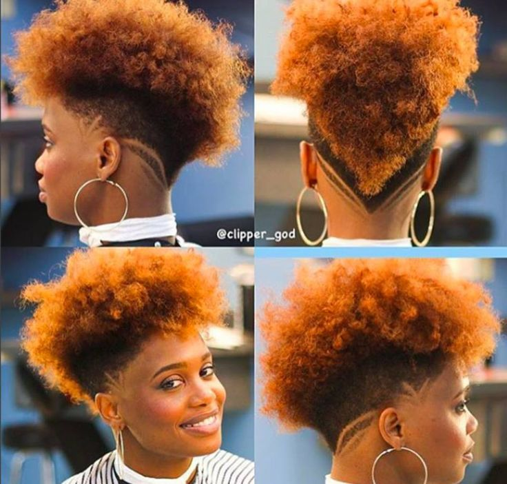 50 Wicked Shaved Hairstyles For Black Women
