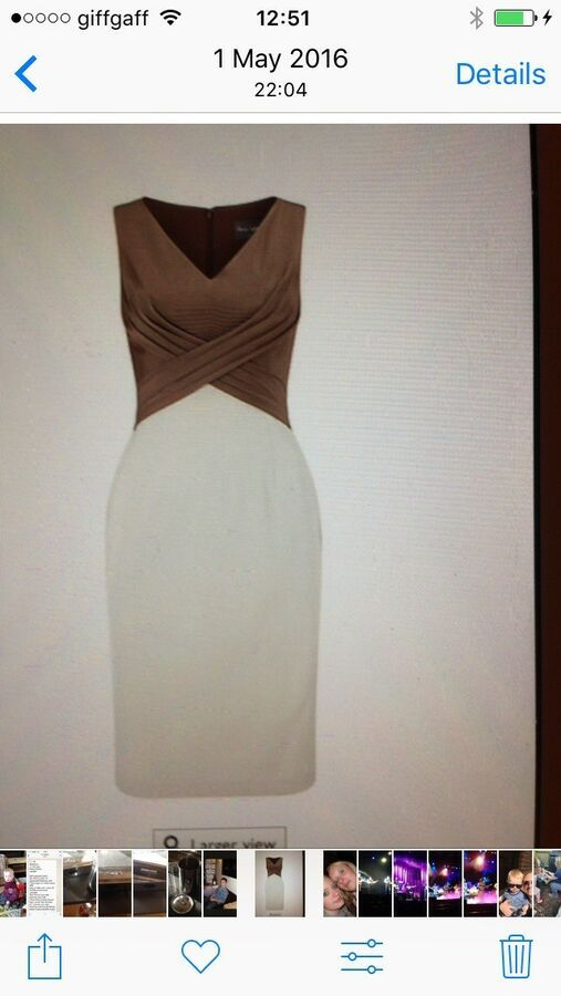 Bargan.Ladies Phase Eight Dress Size 10/12 races/weddings / mother