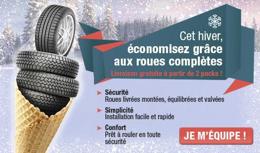 La solution sûre pour cet hiver notre pack hiver (jante+pneu), tout dans un seul pack ! Optez pour la tranquillité et découvrez notre offre : http://www.1001pneus.fr/PackJante