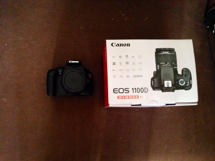 I love my canon EOS 1100 D❤️