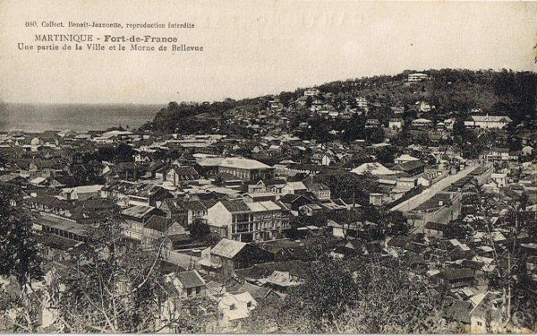 F-de-Fce la ville et le morne Bellevue