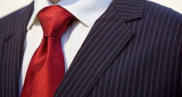 Show everyone who's boss with a Windsor knot. Can *you* tie one?