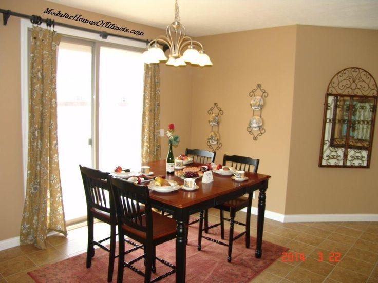 modular home dining room. Interior Design Ideas. Home Design Ideas