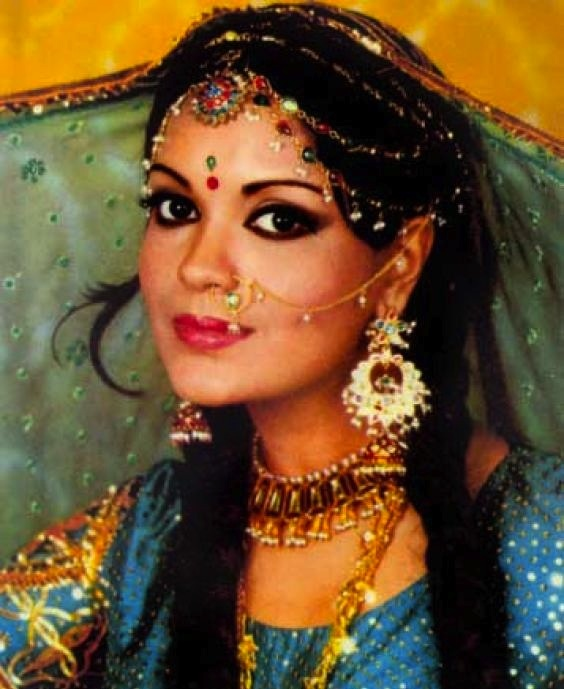 Zeenat Aman...she's so pretty!