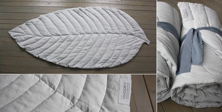 Material: organic linen canvas, fairtrade organic cotton wadding Colour: pebble Size: 130 x 220 cm Price: €540,00