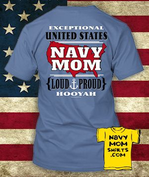 BEST PRICE! SAVE $18-$21 - NAVY MOM Shirts and Hoodies - Limited Edition Run! NavyMomShirts.com #NavyMom