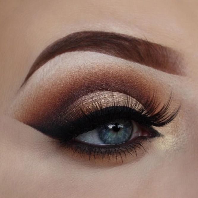 how to make a smokey eye look