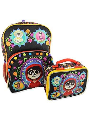 93458b98980 Disney Coco Kids Backpack and Lunch Box School Set (One Size