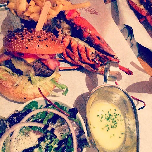 Burger & Lobster in Soho, London