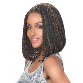 Zury Sis Afro Braid Lace Front Wig BOB SENEGALESE (Individually Hand Braided)