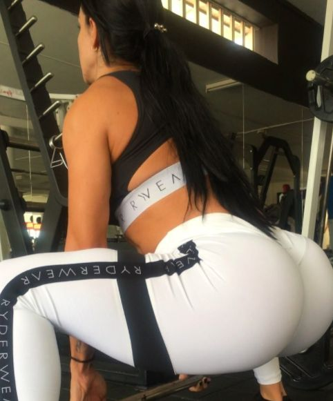 """scurvelifestyle:  """"S-curve #workout moments @espana927 #booty @ryderwear #fashion #gym  """"  Check out America's #1 rated diet here!  Follow our blog at Our Fitness Mania"""