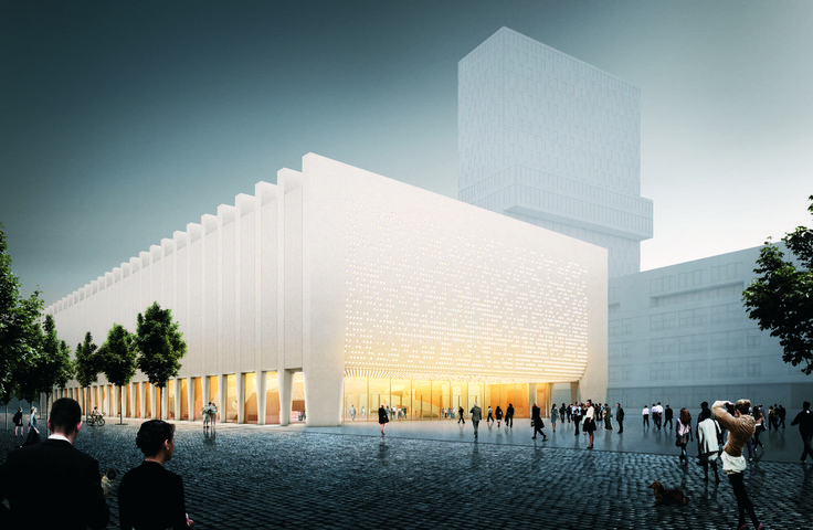 Gallery of Cukrowicz Nachbaur Architekte Beats Out 30 Top Firms in Munich Concert Hall Competition - 30