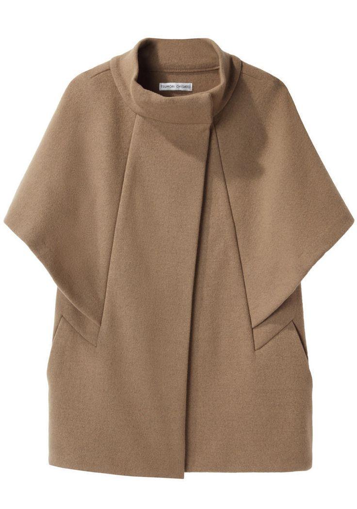 TSUMORI CHISATO | Double Knit Cape Jacket | Shop @ La Garçonne