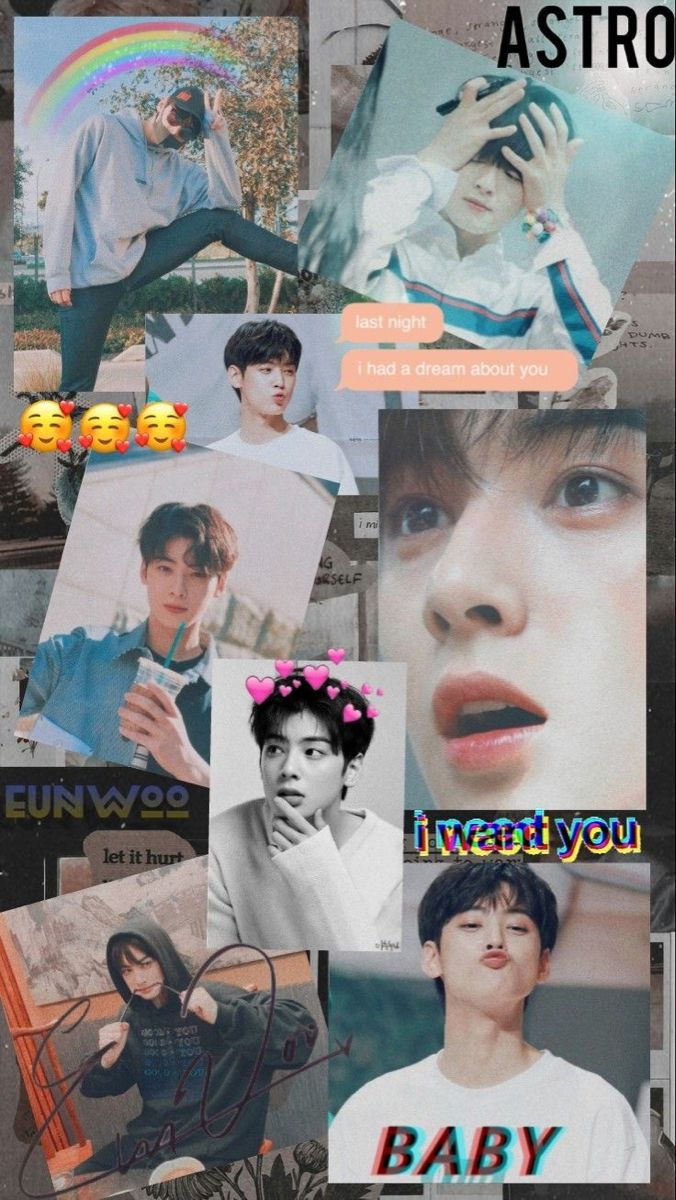 Pin oleh Nur Nasuha Rusli di CHA EUN WOO PHONE WALLPAPERS
