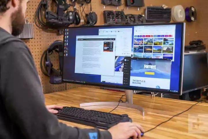 شاشة Lg 34wk95u Monitor Built In Speakers Monitor Speakers