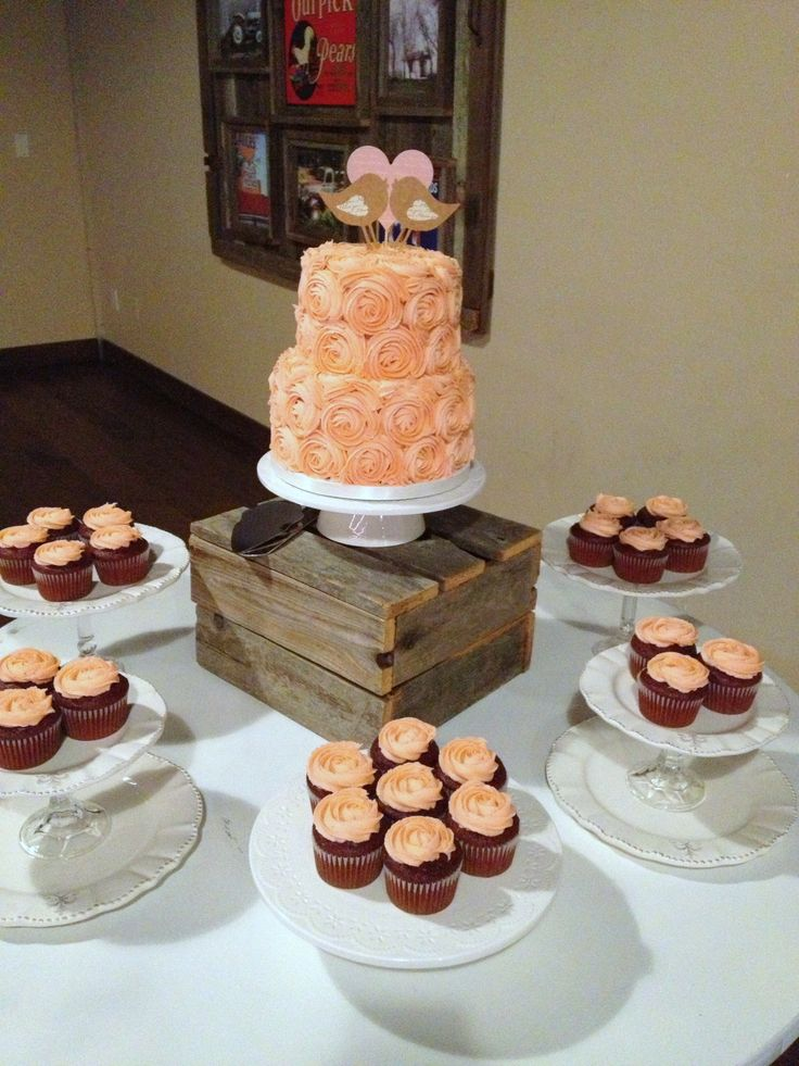 Wedding Cakes And Cupcakes Pinterest