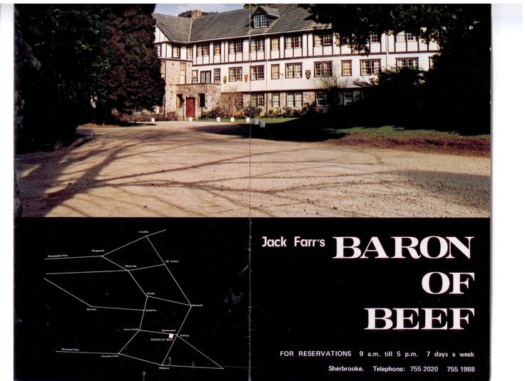 Marybrooke was formerly know as Baron of Beef in the 1960's through to the late 80's