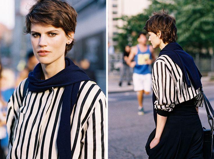 Vanessa Jackman: New York Fashion Week SS 2015....Saskia