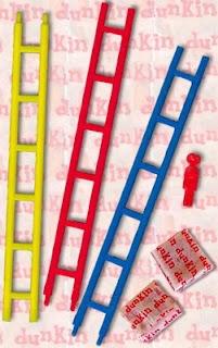 El juego de la escalera. Tan absurdo y patético como entretenido en aquella época.