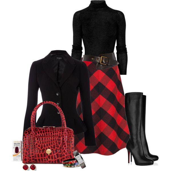 """Plaid For Fall"" by sherry7411 on Polyvore"