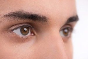 眉毛を整える時は、下はいじらずに上だけを整えましょう。 下のほうをいじると距離が離れますからね。