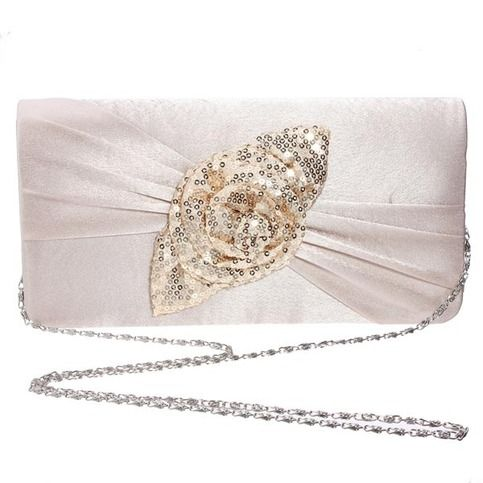 With good quality and best design, this clutch bag is popular around ladies,girls. The price is cheap but the quality can be guaranteed.With this bag in hand, you will look more elegant and be the most beautiful bride..  Details:  Material : Satin                                       Color :...
