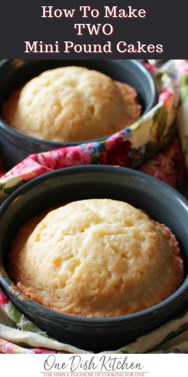 Ein klassisches Rezept für einen Pfundkuchen, das in einen Viertel-Pfundkuchen verwandelt wurde! Gebacken in einem …   – Desserts