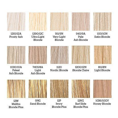 The  Best Wella Toner Chart Ideas On   Wella Hair