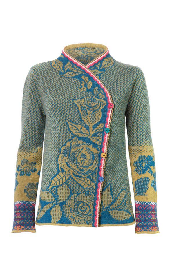 Brocade Jacket - Jacket | Ivko Woman