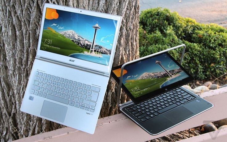 Acer Aspire S7 and Dell XPS 12 review http://vrge.co/XZu0fP