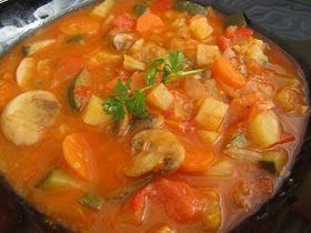 Potaje de verduras Ana Sevilla con Thermomix