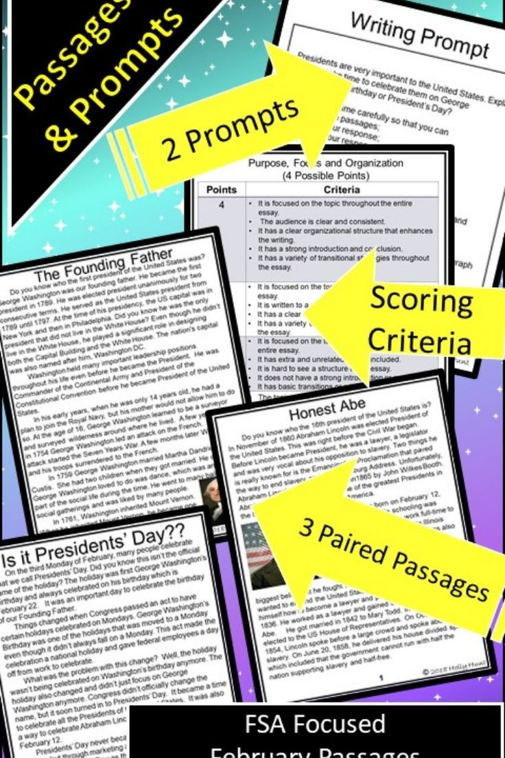 Fsa Text Based Writing And Reading February Passages For Presidents Day Passage Writing Fsa Writing Reading Comprehension Questions [ 1104 x 736 Pixel ]