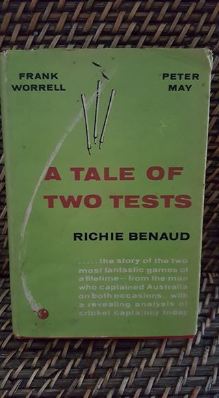 Richie  Benaud tale of two Tests 1962 cricket