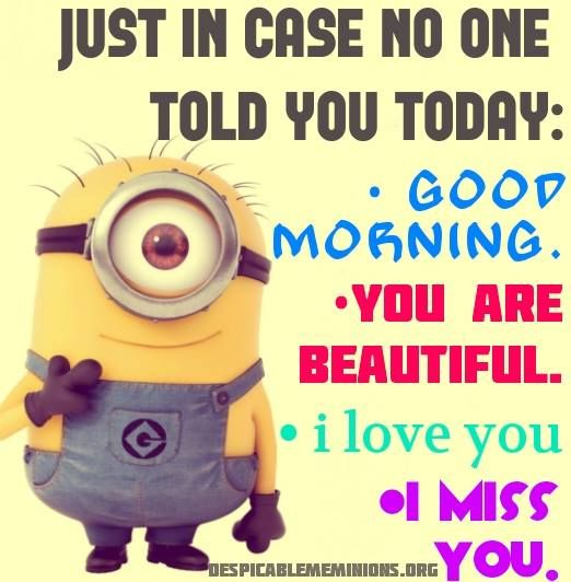 You made my day! ^_^ #minions #Despicable Me