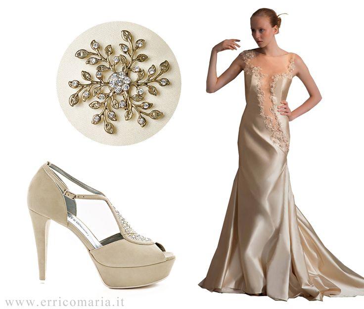 Abito sposa, accessori, scarpe