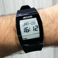 Archos' E Ink #SmartWatch looks like a Pebble with a facelift