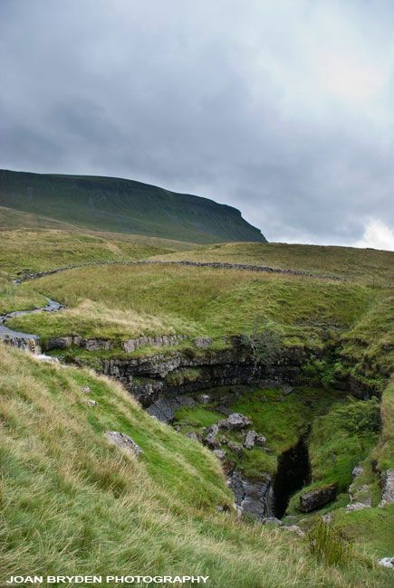 Hunt Pot, Penyghent, Horton in Ribblesdale, Yorkshire Dales, North Yorkshire, England