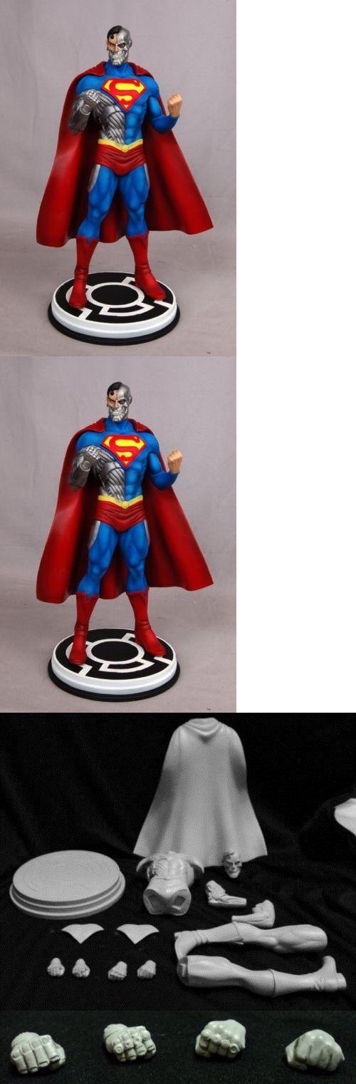 Super Hero 2593: Cyborg Superman Model Kit Oop -> BUY IT NOW ONLY: $150 on eBay!