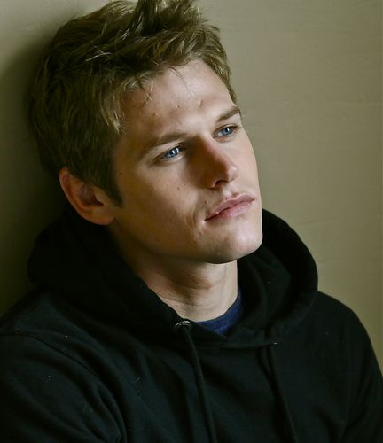 Zach Roerig. I don't think there is even one unattractive guy on Vampire Diaries.. ;)