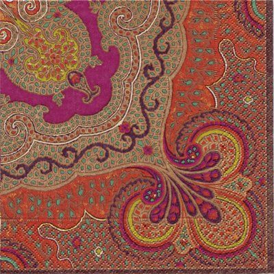 Spice Jaipure Napkins - 20 paper table napkins - Caspari Caspari http://www.amazon.co.uk/dp/B002WWF64O/ref=cm_sw_r_pi_dp_-3tlvb02X4MHE