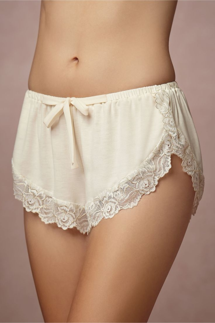 Loving these - so cute Venezia Tap Shorts in Lingerie View All Lingerie at BHLDN