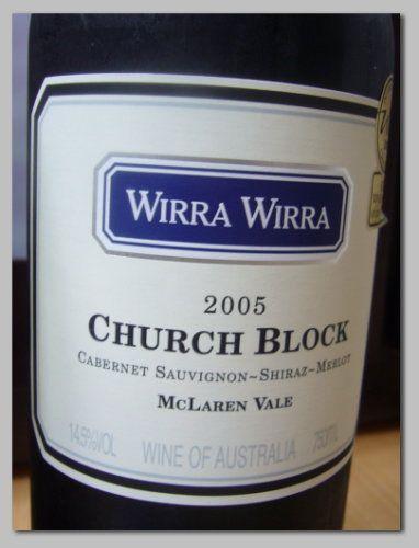 Wirra Wirra-Church Block