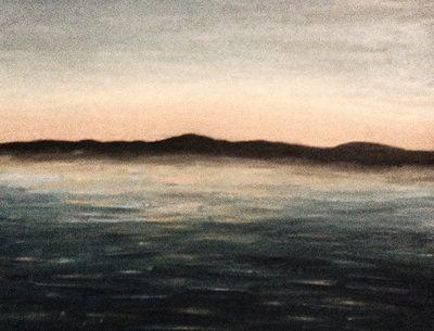 landscape no.1, 2011, acrylic on canvas, Rebecca Lee Coates