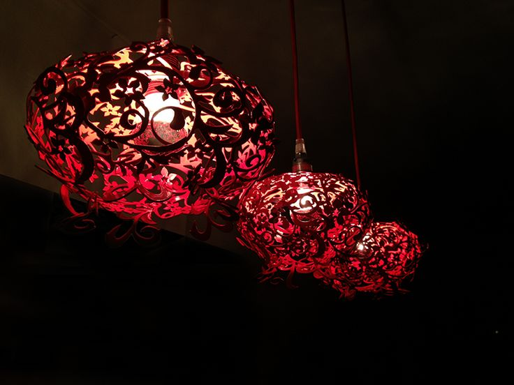 Items Similar To Pendant Lamp   Fire Lily Mini   Pomegranate   Flower Lamp    Red  Small Lamp   Hanging Lamp On Etsy