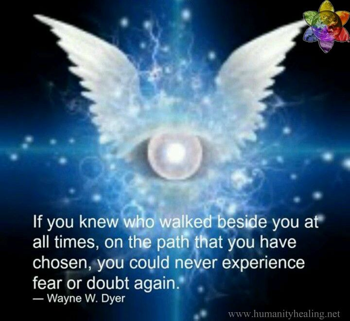 Wayne Dyer If You Knew Who Walked beside You
